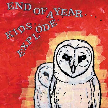 """END OF DAYS / KIDS EXPLODE – Split (NAR 018) 7"""""""