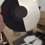Half black/half white Vinyl